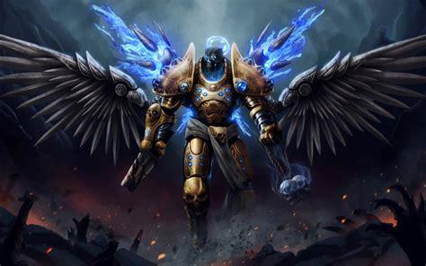 angel warrior wallpaper creative  fantasy wallpaper