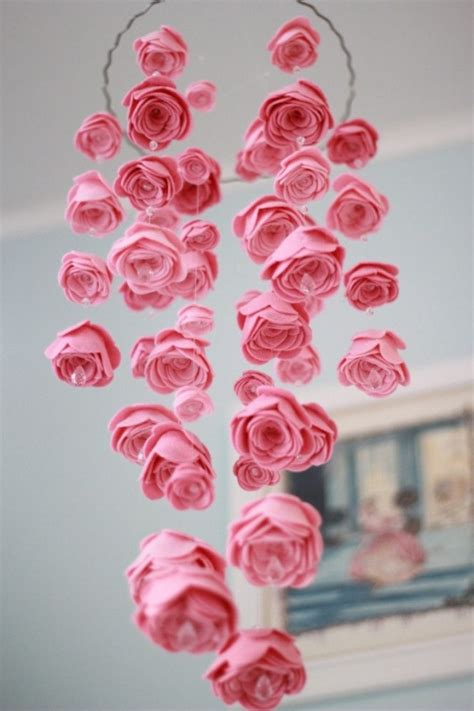 picture of diy floral mobile 29 diy mobile projects for nimble fingers diy