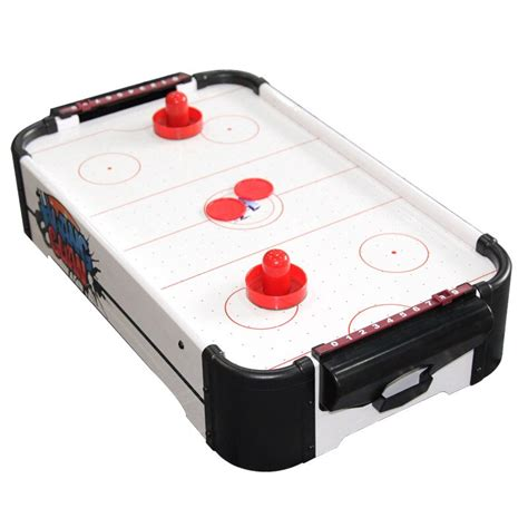 tabletop mini electric powered airhockey game  kids