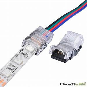 Conector Rapido 4 Pines Cable A Tira Ip65 Para Tira Led