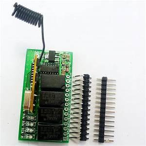 Super Mini Dc 5v 9v 12v 433 92m 4ch Rf Wireless Remote