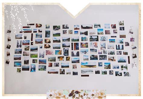 Fotowand Gestalten Ohne Rahmen by Collecting Memories Christine Polz