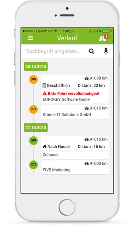 fahrtenbuch app android kfz fahrtenbuch fahrtenbuch app f 252 r iphone android und