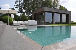 Pool House Toit Plat : pool house en bois belgique ~ Melissatoandfro.com Idées de Décoration