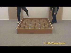 Wasserbett Selber Bauen : aufbau wasserbett sockel youtube ~ Michelbontemps.com Haus und Dekorationen
