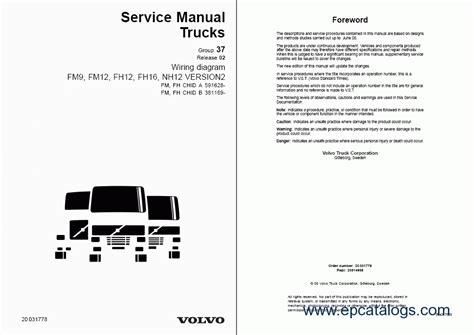 Volvo Wiring Diagrams Repair