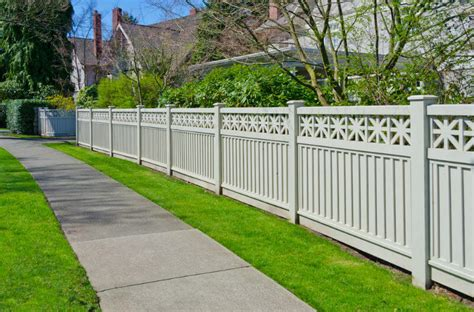 vinyl fencing ideas home fence designs peenmedia com