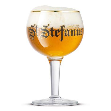 verre a bierre verre biere belge st stefanus 25cl