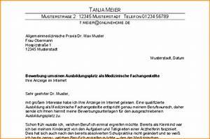 9 bewerbungsschreiben medizinische fachangestellte With bewerbungsschreiben ausbildung medizinische fachangestellte muster