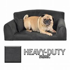 heavy duty black sofa pet bed 3 sizes good quality With strong dog beds for large dogs