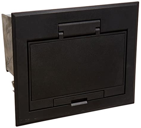 hubbell hblafb101bk access floor box and cover 4 gang