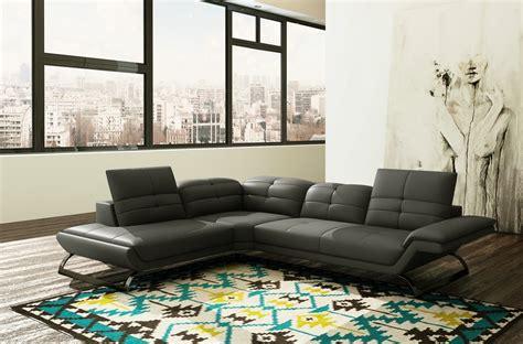 canapé italien sofa canape angle design italien canps design en cuir et