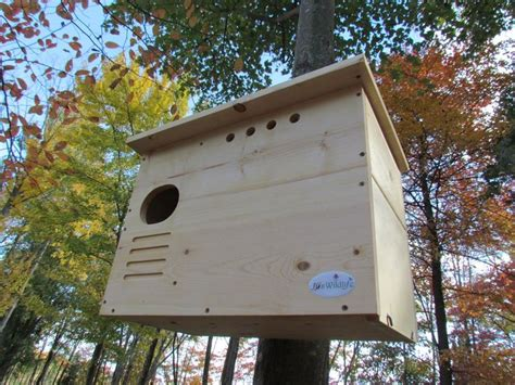 barn owl nest box large house hand crafted  usa nests