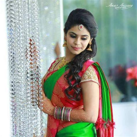 gorgeous nethi chuttis  south indian bridal