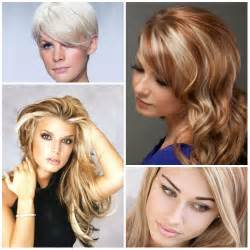 2017 Hair Color Blonde Highlights