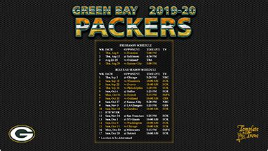 green bay packers wallpaper schedule