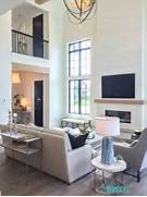 Modern Look Living Room by Remodelaholic Get This Look Modern Farmhouse Living Room