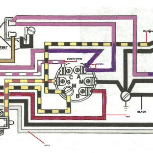 mercury outboard ignition switch wiring diagram free wiring diagram