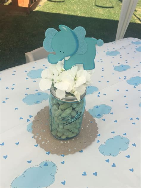 elephant centerpieces for baby shower elephant peanut baby shower centerpiece baby