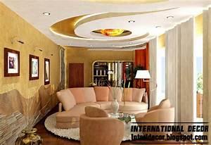small sitting room gypsum false ceiling for modern living