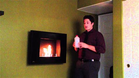 napoleon wall mount ethanol slim profile burning fireplace