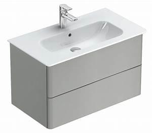 pack meuble salle de bains personnalisable 104 x 44 x 475 With meuble salle de bain gris perle