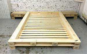 Palettenbett Bauen 140x200 Anleitung : palettenm bel futonbett 39 new york 39 ohne kopfteil by sl ~ Watch28wear.com Haus und Dekorationen