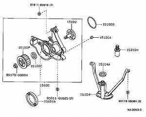 Toyota Tercel Engine Oil Pump  An Engine Oil Pump For A Vehicle