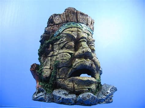 ancient ruins fish tank decorations ancient myth jungle statue ruins cave 20 5cm aquarium ornaments decor fish tank ebay