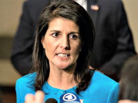 Nikki Haley On Paris Climate Accord
