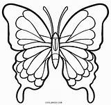 Coloring Pages Butterfly Butterflies Cool2bkids Printable sketch template