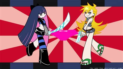 Panty And Stocking With Garterbelt Wallpaper! By Theodd