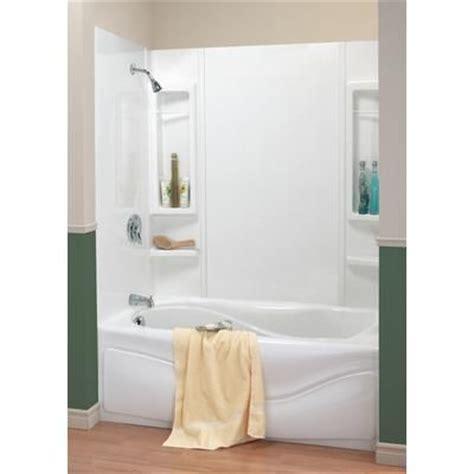 maax bathtubs home depot maax 59 panama tub wall kit 101646 000 129 000