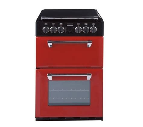 Buy STOVES 550E Mini Range Electric Cooker   Red   Free