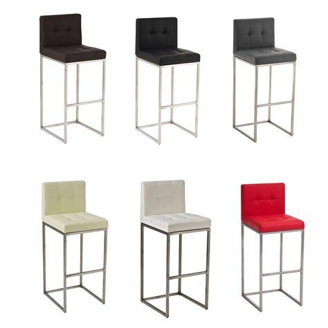chaises cuisine couleur tabouret de bar edimbourg acier inoxydable choix de couleur cuisine bar chaise ebay