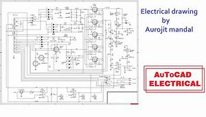 Do Electrical Drawing In Autocad 2d By Aurojit Mandal