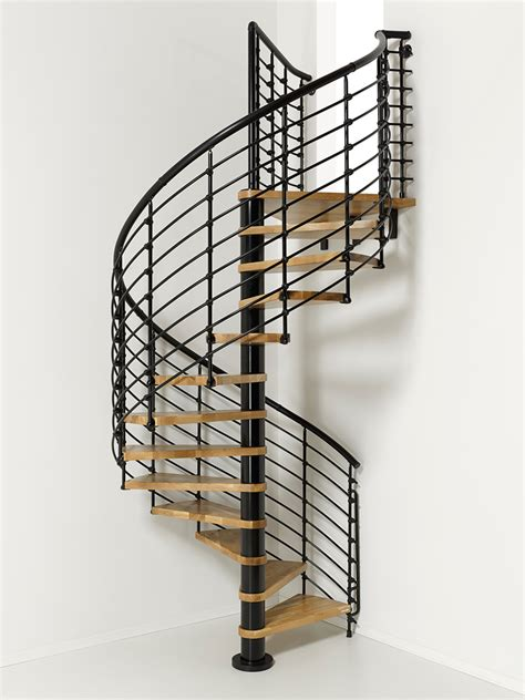 home interior railings oak70 xtra metal steel and wood spiral staircase fontanot