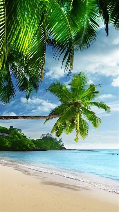 Iphone Beach Nature Paradise Coast Wallpapers Plus