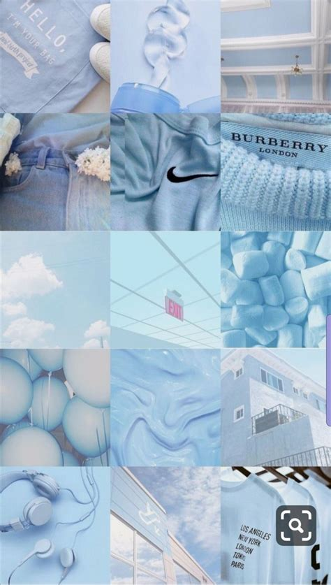 baby blue aesthetic pastel blue wallpaper iphone