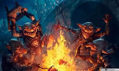 Gathering Magic Goblin Wide Besthdwallpaper