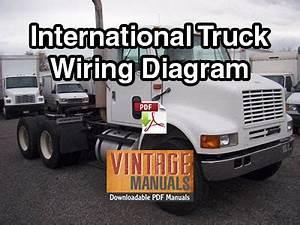 International 4200  4300  4400 Truck Wiring Diagram Pdf