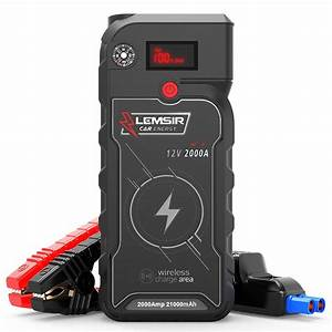 Portable Car Lithium Jump Starter Auto Battery Booster Gas