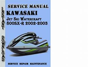 Kawasaki Jet Ski Watercraft 800sx