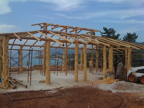 Tiki Hut Construction tiki hut design landscaping network