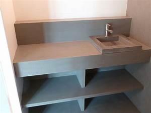 best meuble salle de bain beton cellulaire images With meuble salle de bain beton cellulaire