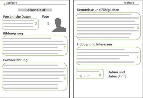 Vordrucke Bewerbung Und Lebenslauf by Muster Lebenslauf Word Muster Lebenslauf Zum Ausdrucken