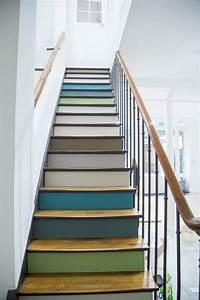 couleur escalier bois gallery of idee couleur escalier With awesome peindre des escalier en bois 10 renovation escalier la meilleure idee deco escalier en un