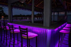 Led outdoor bar lighting tropical patio st louis