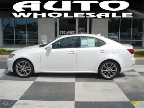 white lexus is 250 2008 2008 starfire white pearl lexus is 250 15207917 photo 9