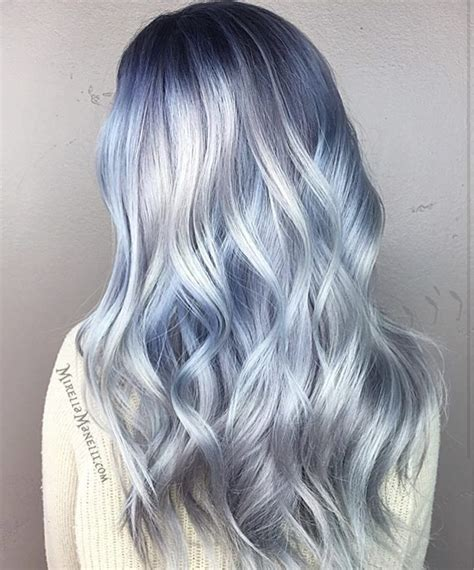 Love This Icy Blue Shade By The Amazing Mirellamanelli